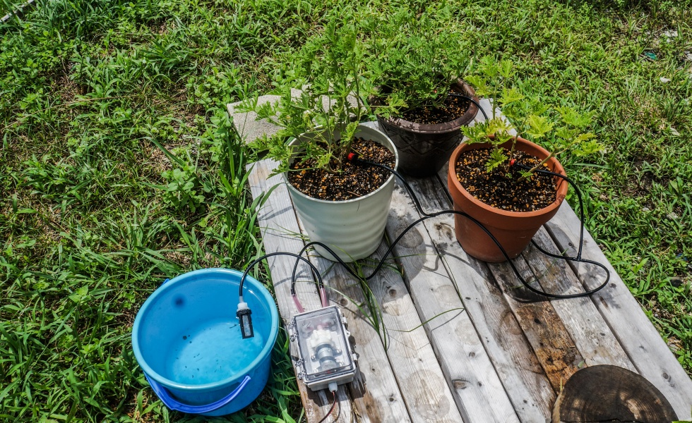 Hackerfarm Naiad – Automated Drip Irrigation – Part 1
